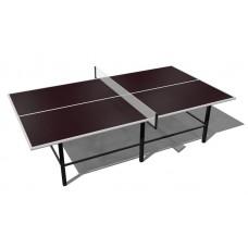 Теннисный стол с перегородкой антивандальный